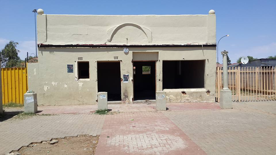 Robert Sobukwe's now dilapidated offices